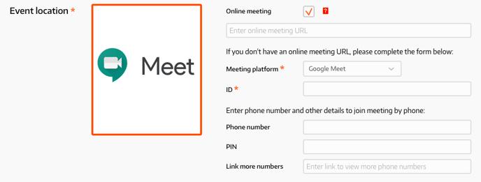 Google Meet Info